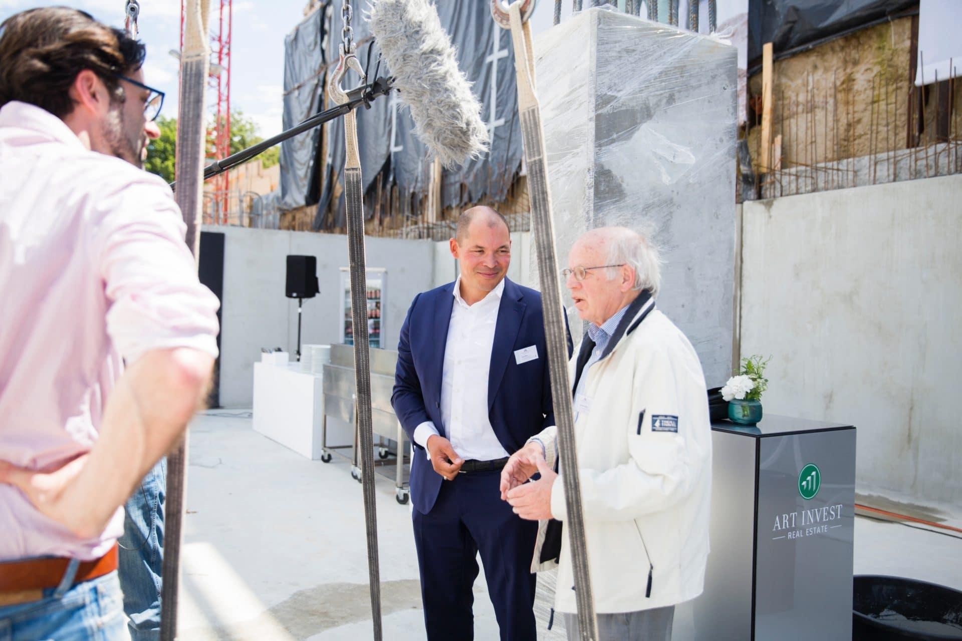 Arne Hilbert und Joachim Kaiser
