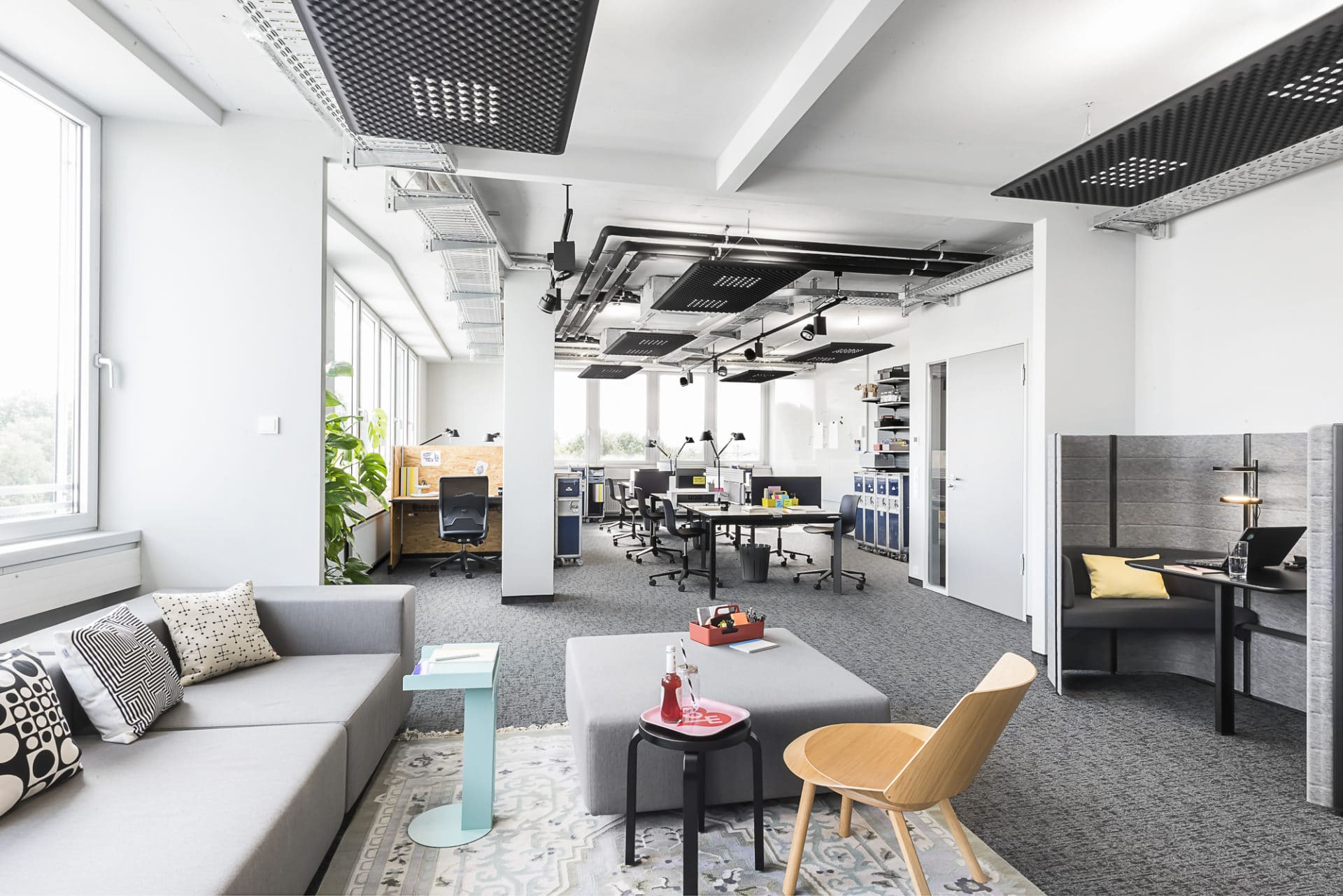 Work Loft - Corporate Coworking 1 ©Design Offices